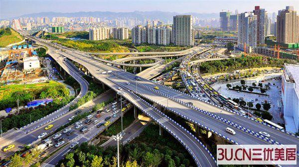 重庆城市主干道